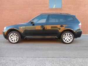 2007 BMW X3 3.0SI -- M SPORTS PKG -- NAVIGATION