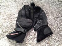 Hein Gericke motorcycle gloves. size medium.