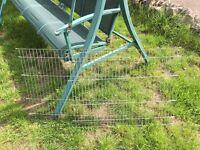 26 metal small pet fencing panels