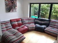 Curved Sofa/chairs - corner sofa will sell chairs separately