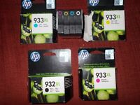 Brand new HP inks all the colours 5,99 bargain 40pounds all