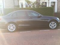 Mercedes C180 Executive SE BLUE CY A --- Black 4 door saloon,petrol,automatic,excellent condition