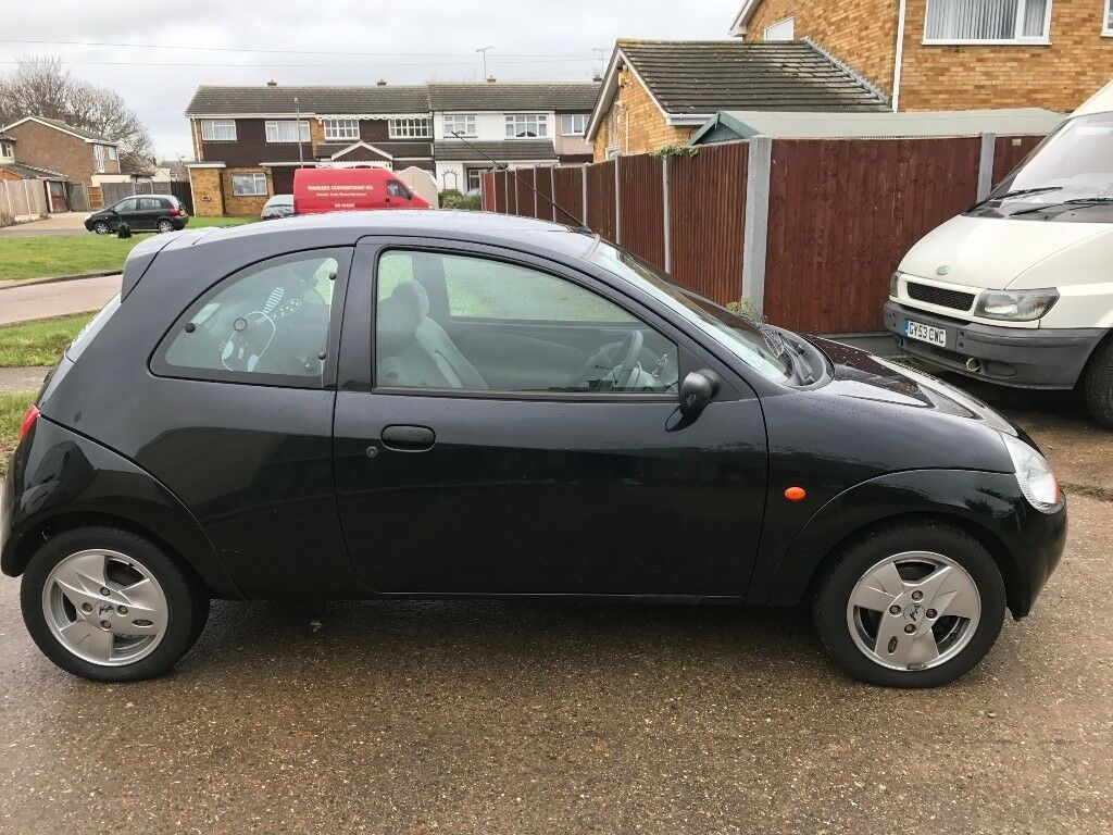 Black Ford Ka  Great Condition  Miles
