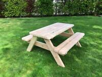 Picknick Tafel En Bank Ineen.Picknicktafel Tuin 2dehands Be