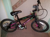 Girls age 8+ Apollo bmx style bike