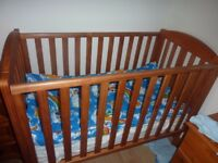 mothercare baby wooden cot