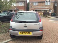 Silver Hatchback Vauxhall Corsa for sale