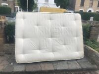 Free very good condition double mattress