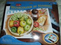 WATERCOLOUR PAINTING BY NUMBERS (New & Boxed)