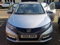 Quick Sale - Honda Civic 2.2 diesel 2012.. Brilliant car well maintained!