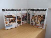 The classic famous TV sitcom Friends on VHS Series 1-9