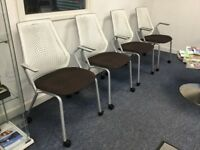 Herman Miller set of 4 chairs