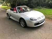 MGTF 135 Convertible 80th anniversary number 715 of 1600 low mileage 67,000 miles