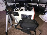 Sony A6000 digital camera & EXTRAS