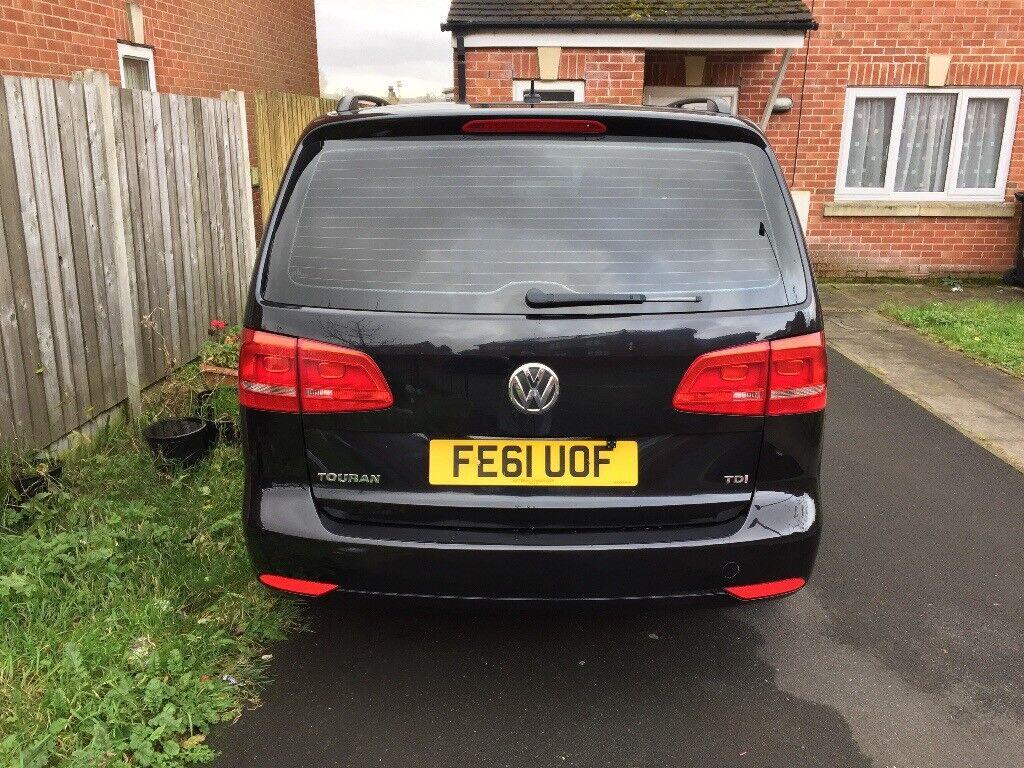 2012 (61 Reg) VW Touran 1.6 Diesel Automatic 7 seater, 73000 miles guaranteed mileg