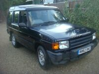 LAND ROVER DISCOVERY 300 TDI AUTO 2.5 DIESEL 1997 R REG