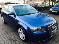 Audi A3, 1.9 Tdi Sportback,2007,Diesel, F.S.History,Long Mot, Excellent Runner,3 M Warranty