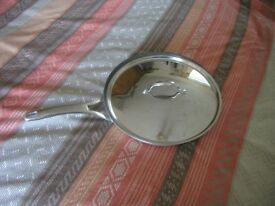 Analon 12inch copper bottom frying pan with lid nice condition