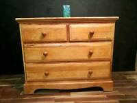 Ercol pine chest of drawers