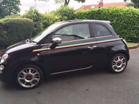 GENUINE Fiat 500 16 inch Alloy wheels (set of 4) with good tyres