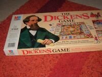 Dickens Game Vintage MB The Dickens Board Game