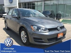 2015 Volkswagen Golf 5-Dr 1.8T Trendline at Tip With Financing F
