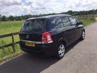 2010 Vauxhall Zafira 1,6 litre 5dr 7 seater 1 owner