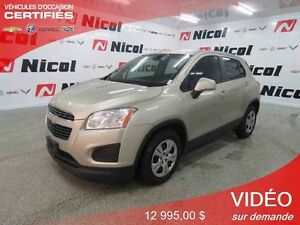 2013 CHEVROLET TRAX FWD
