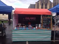 Vintage Market Gazebo Stall for sale