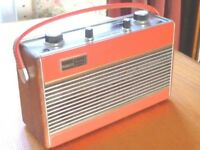 Roberts RIC2 portable MW/LW radio in Red