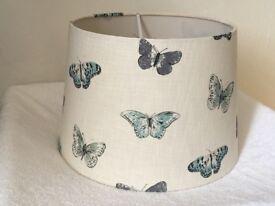 Lightshade, butterfly pattern