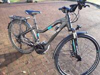 Haibike SDURO Trekking 5.0 2017 - Electric Hybrid Bike. Size 44cm (17 inch) Unisex frame