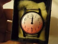 *CHARITY SALE* WATCH face -- Collectible, Soviet, very rare find. vintage, in brand new condition