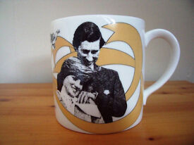 The Observer Royal Wedding Charles/Diana 1981 Crown fine bone china mug. Perfect condition. £12 ovno