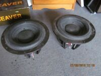two sub speakers