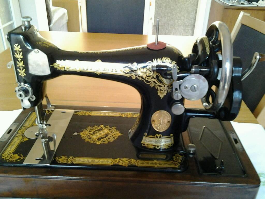 Singer Antique Sewing Machine