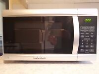 800w Morphy Richards Microwave in Silver
