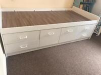 * Sold * Child / Kids / Children's single cabin high sleeper bed with storage