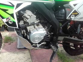 Rieju MRT Pro 125cc lerner legal. Used in great condition. No time wasters