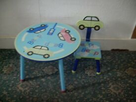 Kids Table and Chair ID 327/6/18