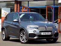 BMW X5 3.0 XDRIVE40D M SPORT 5dr AUTO (310) ** 7 Seats + Huge Spec ** (grey) 2016