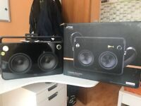 Used TDK 2 Speaker Boombox in Original Box in very good condition.