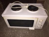 2 plate stove and grill