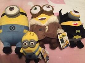 Minion cuddly toys
