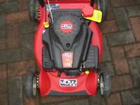 JDW Petrol Powered Rotary Push Lawnmower as new