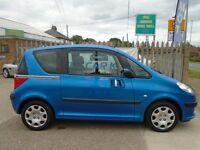 PEUGEOT 1007 1.6 16v Dolce 3dr Auto (blue) 2005