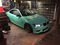 Bmw e92 320d modified show car with cheap insurance and 220bhp with 70mpg