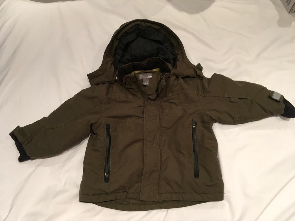 H&M Boys coat age 1.5 - 2 Year's