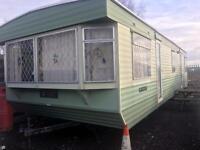 Atlas applause super static caravan 35 by 12 two bedroom