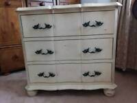 French Repro chest drawers